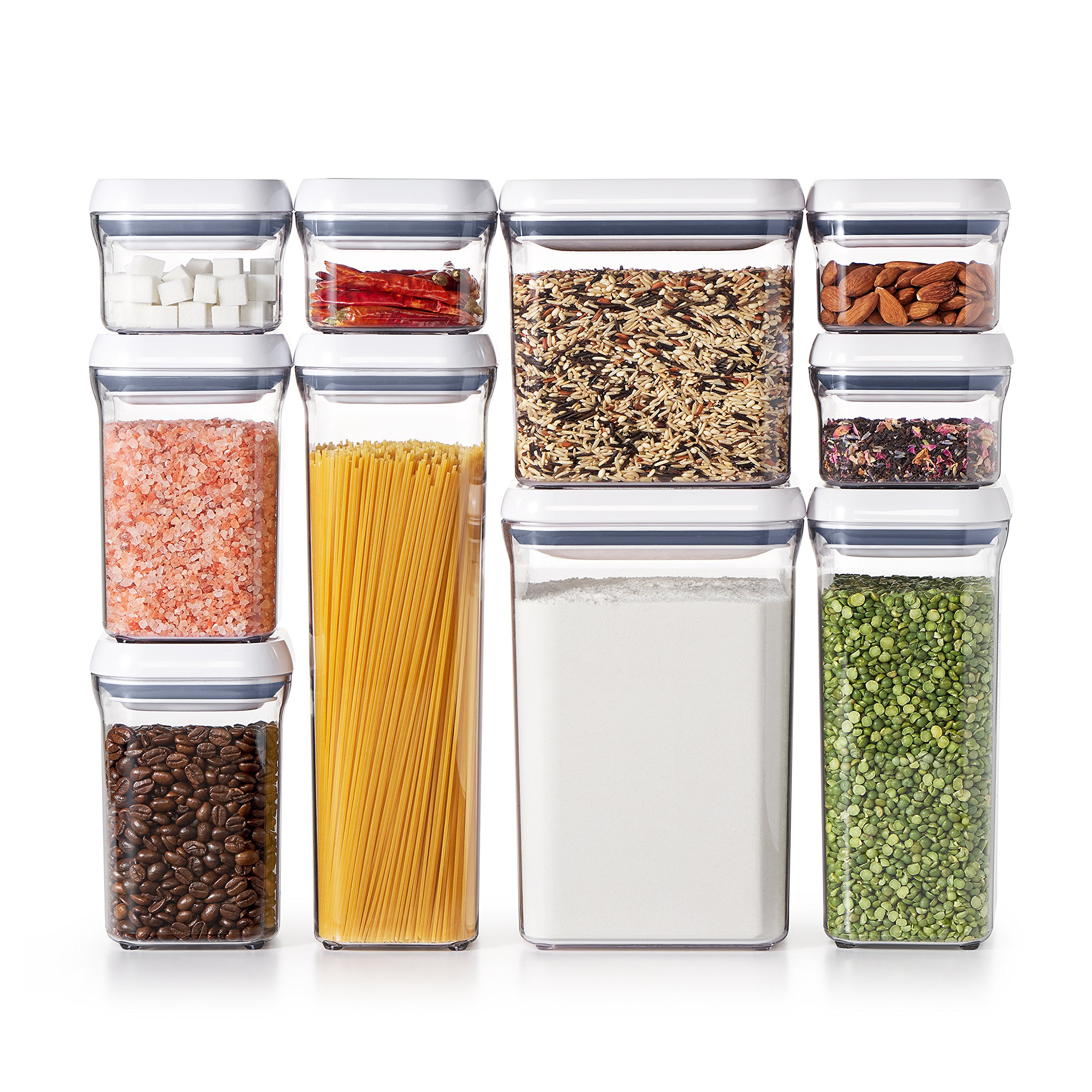 OXO Good Grips 10-Piece Airtight Food Storage POP Container Value Set by OXO