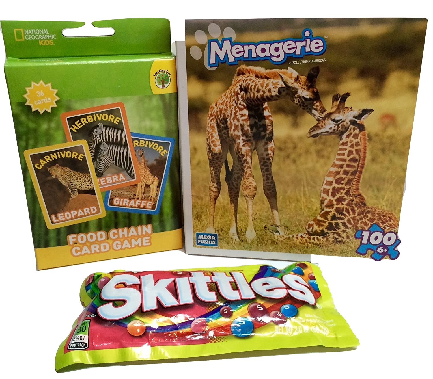 Wild Animals! Educational Activities for Kids. Food Chain ...
