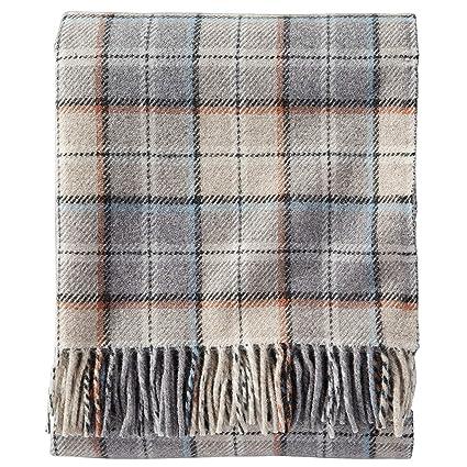 Amazon Pendleton EcoWise Washable Wool Fringed Throw Blanket Custom Washable Wool Throw Blanket