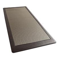 "iCustomRug Ergonomic Anti Fatigue Mat, for Comfortable Standing in Kitchen, Bathroom, Workstation Memory Foam Mat 39""×20""×0.75"" (L×W×H)"