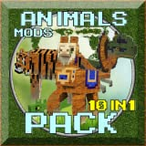 mods: animals pack 10 in 1 for pe