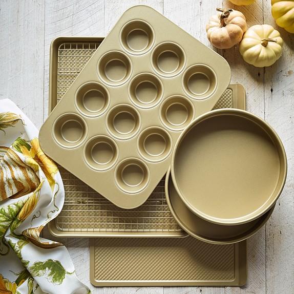 Williams-Sonoma Goldtouch® Nonstick 6-Piece Essentials Bakeware Set | Williams-Sonoma