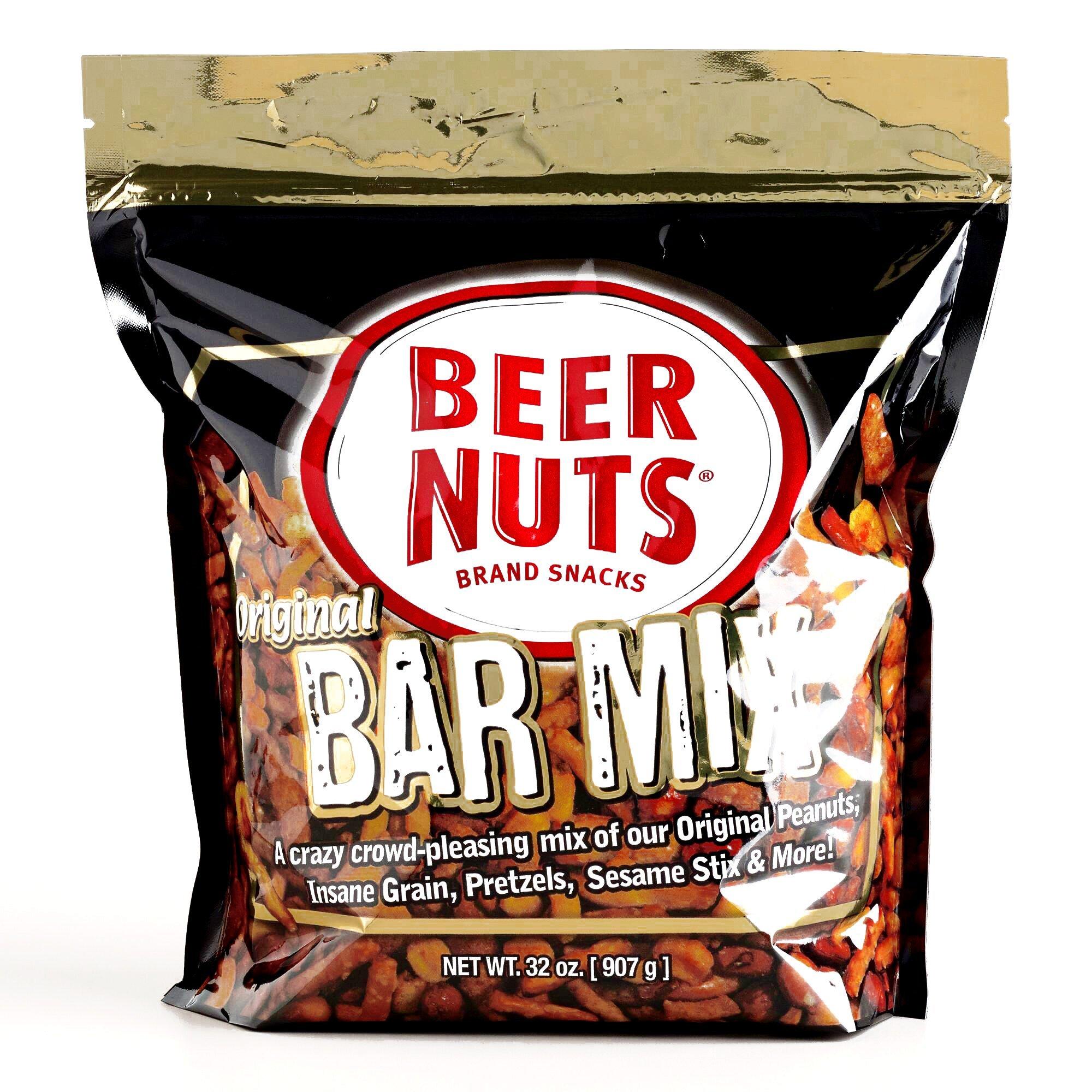 Beer Nuts Co. Original Bar Mix 32 oz each (1 Item Per Order)