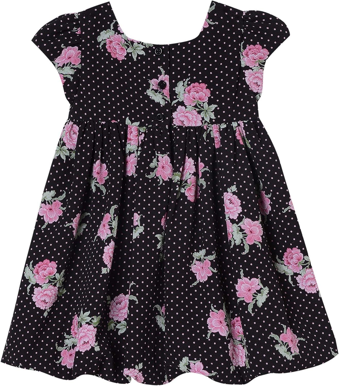 Laura Ashley Baby Girls Cap Sleeve Bubble Hem Dress