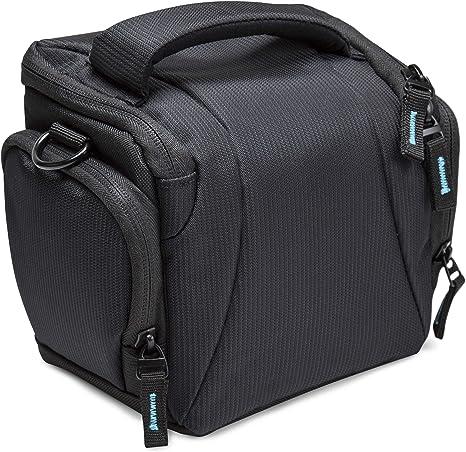 BODYGUARD 5* Estuche Negro - Adecuado para Nikon Coolpix B500 L330 L340 L840 Canon Powershot SX530 SX540 HS: Amazon.es: Electrónica