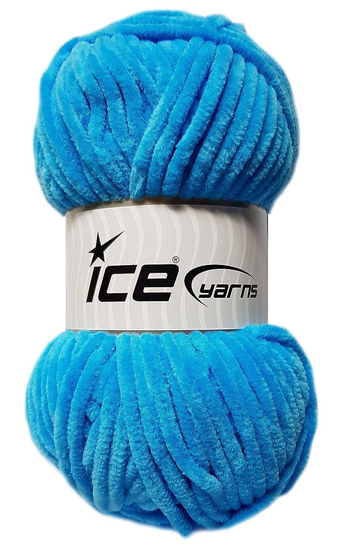 Ice Yarns 100 Gramm Chenille Baby Softgarn Bunny kuschelliges Garn ...