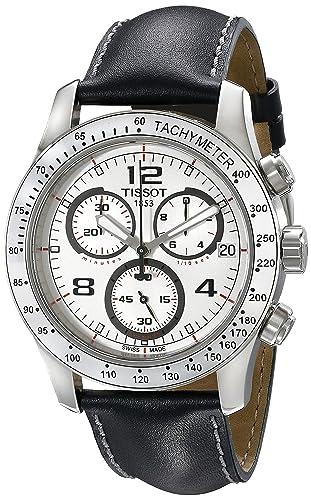 Tissot Men S T039 417 16 037 02 White Dial Watch Tissot Amazon Co