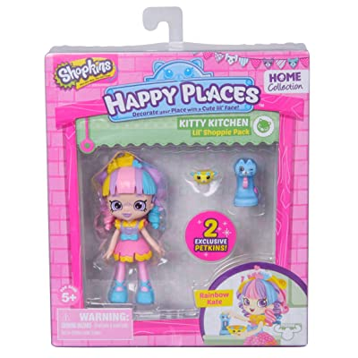 Happy Places Shopkins Single Pack Rainbow Kate: Toys & Games