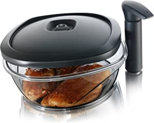 Tomorrow's Kitchen Instant Marinator, 2.50 Liter Capacity - Black
