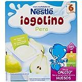 Nestlé iogolino - Pera - A Partir de 6 Meses 4 x 100 g - Pack de 3