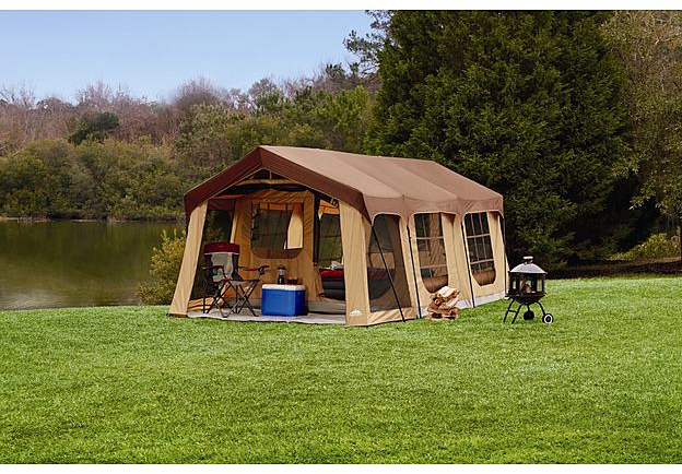 Northwest Territory Front Porch Cabin Tent 10 Person - Fitness & Sports - Outdoor Activities - Camping & Hiking - Tents