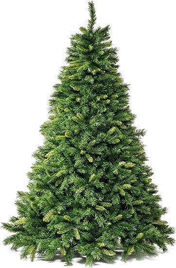 Albero Di Natale 852 Bambini.Xone Albero Di Natale Artificiale 180cm Super Folto E Realistico Amazon It Casa E Cucina