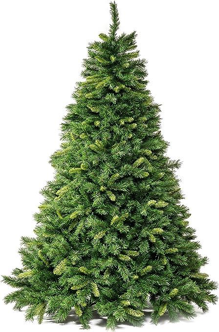 Albero Di Natale Finto.Xone Albero Di Natale Artificiale 180cm Super Folto E Realistico Amazon It Casa E Cucina
