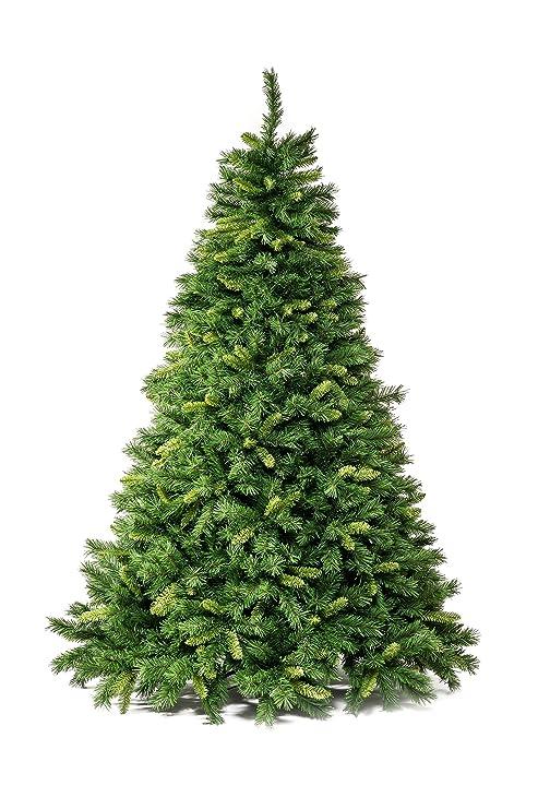 Alberi Di Natale Finti.Xone Albero Di Natale Artificiale 240cm Super Folto E Realistico