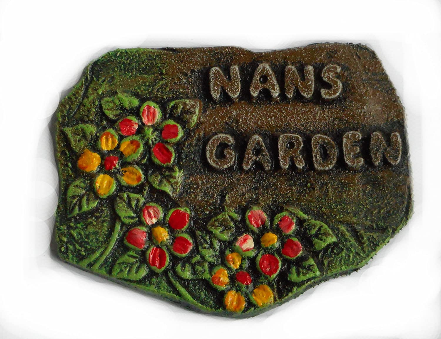 ClassCast Nans Garden. Wall plaque. Garden sign. Nannas gift. Grandmother present. Door sign. Summerhouse plaque.