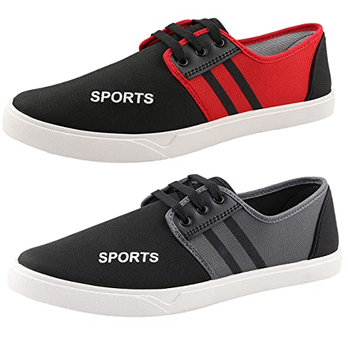 168 Smart Casuals Canvas Shoes Combo