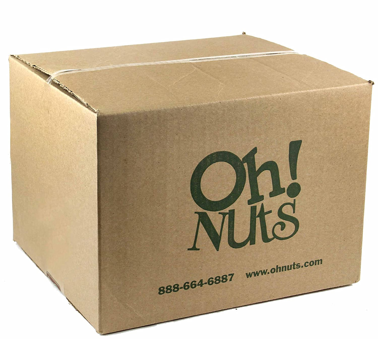 Cashews Oven Roasted Finely Salted, Dry Roasted Salted Cashews - Oh! Nuts (25 LB Dry Roasted Salted Cashews)