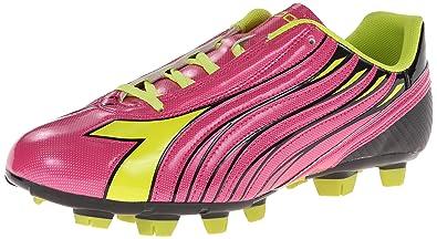 49c58c32 Diadora Women's Solano Soccer Cleat Shoes, Magenta/Yellow, 6 M US ...