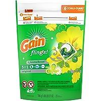 Gain flings! Liquid Laundry Detergent Pacs, Original, 35 count