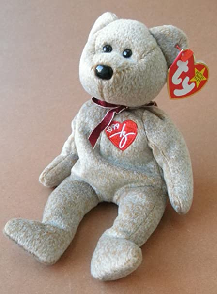 4a278188c17 Image Unavailable. Image not available for. Color  1 X TY Beanie Babies  1999 Signature Bear ...