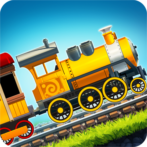 Fun Kids Train Racing Games (People Racing)