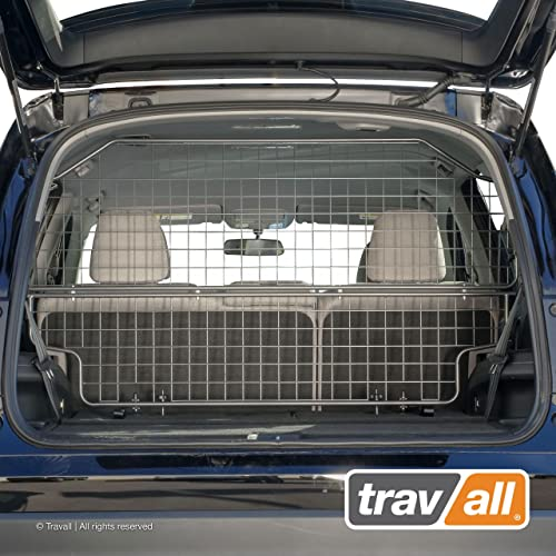 Travall Guard Plus Compatible with Honda Pilot 2015-Current TDG1571 – Rattle-Free Full Height Steel Vehicle Specific Pet Barrier