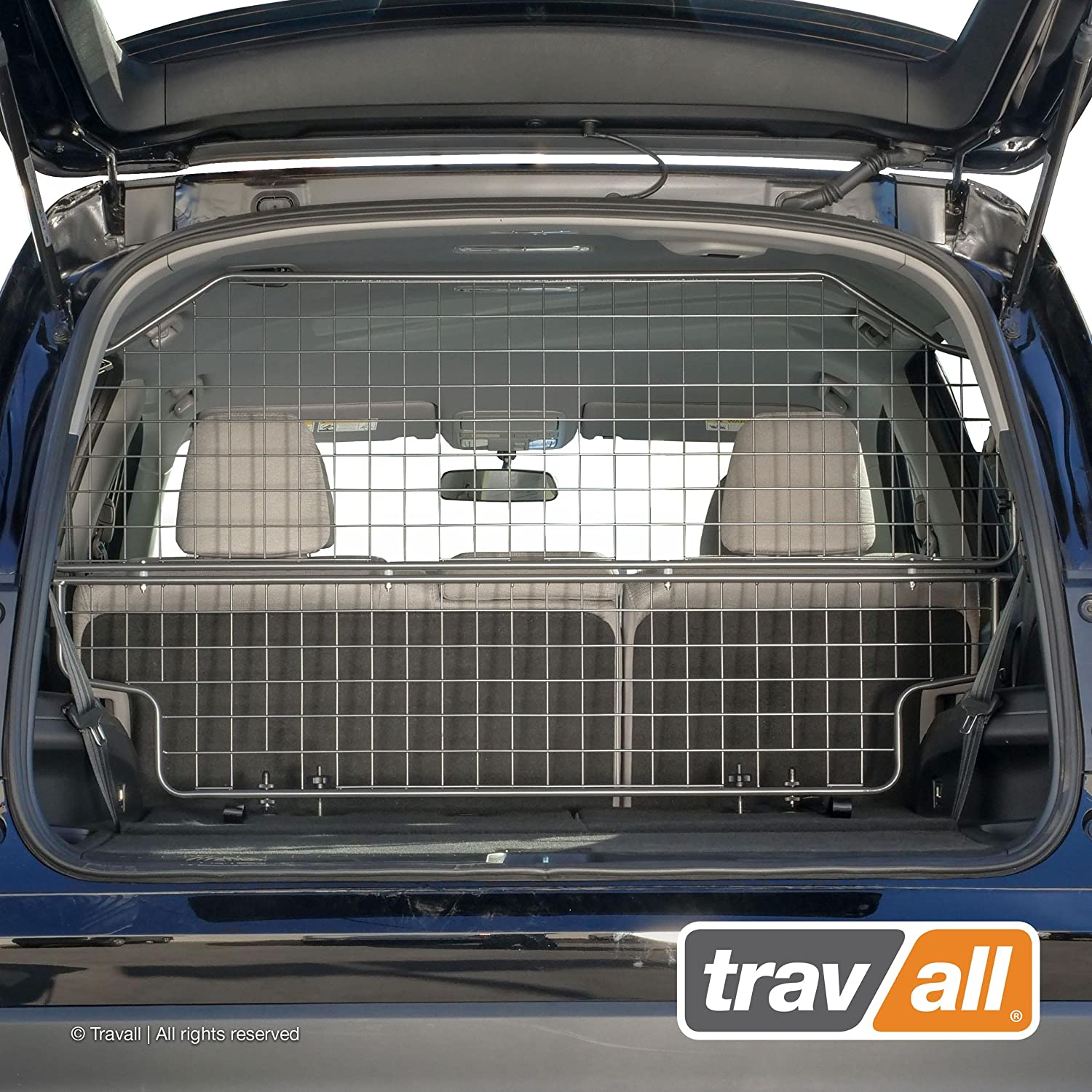 Travall Guard Compatible with Honda Pilot 2015-Current TDG1571 – Rattle-Free Steel Pet Barrier