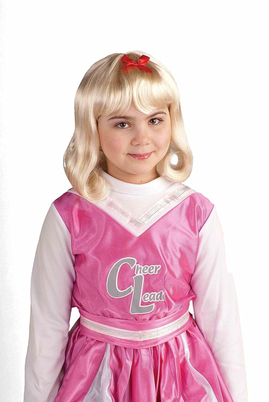 Girls Lil Cheerleader Wig