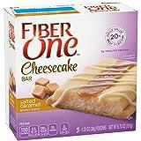 Fiber One Cheesecake Bar, Salted Caramel, 5 Count
