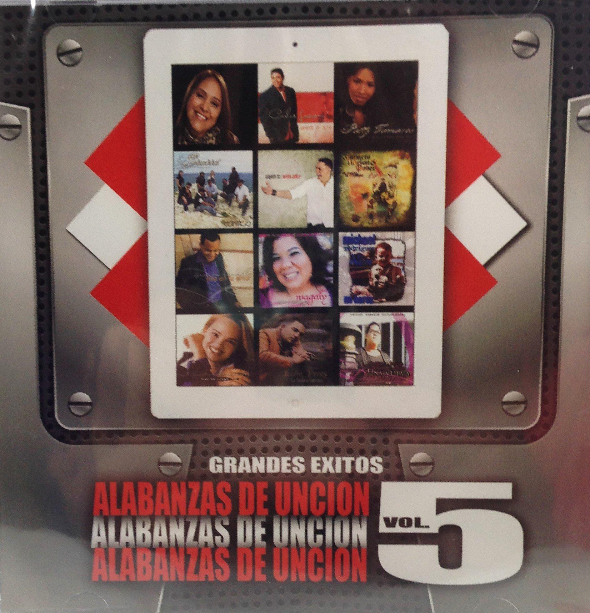 Alabanzas de Uncion Vol. 5