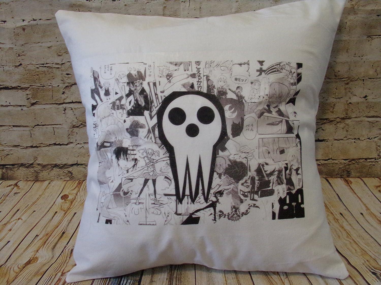 Soul Eater throw pillow