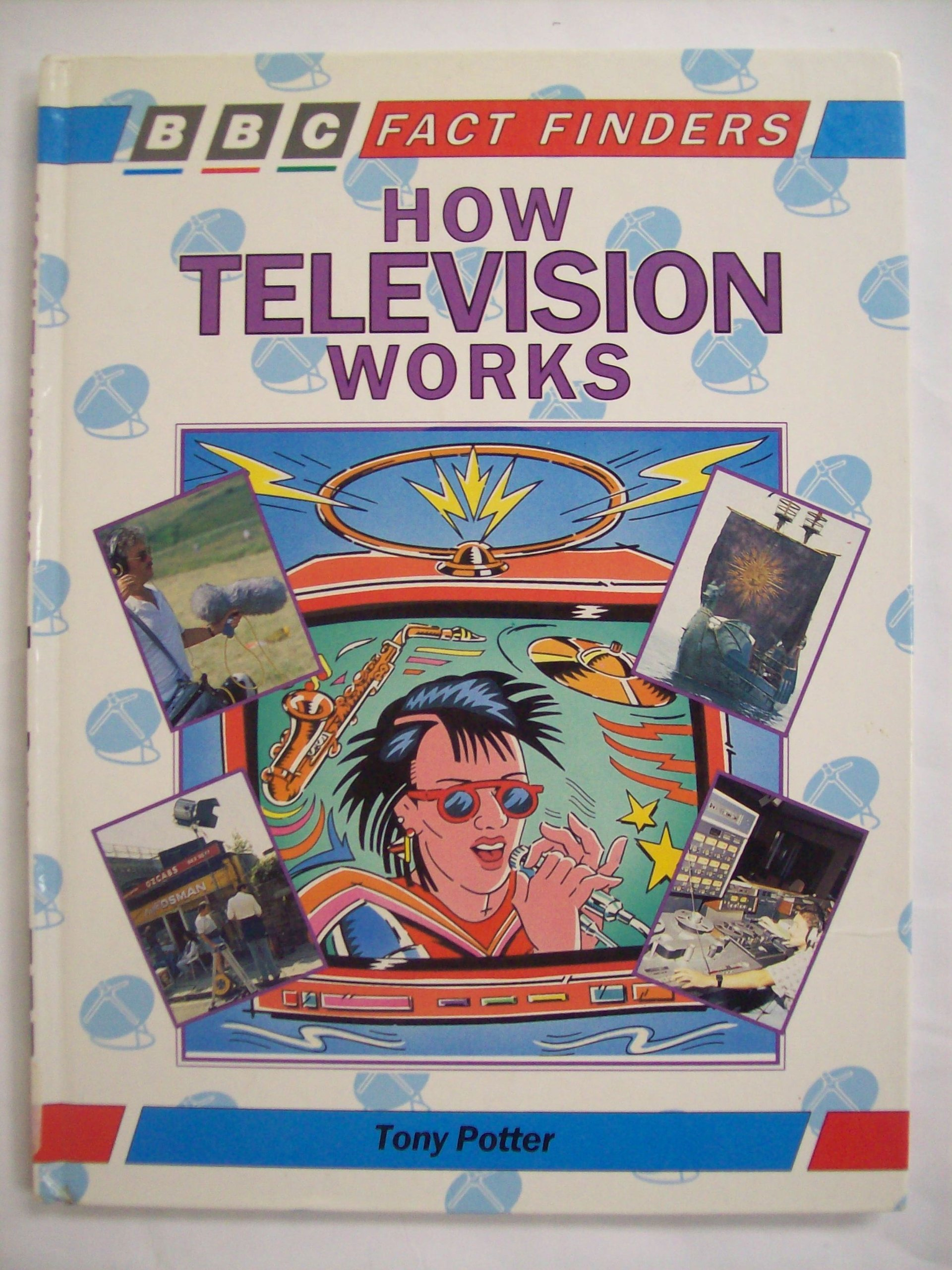 How Television Works (Factfinders)