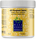 Wise Woman Herbals – All Purpose Salve – 1 Oz – Promotes Healthy Skin, Soothes Minor Abrasions and Irritations, Dry Skin, Itchy Hands, Cracked Heels and Feet – For Adults and Kids