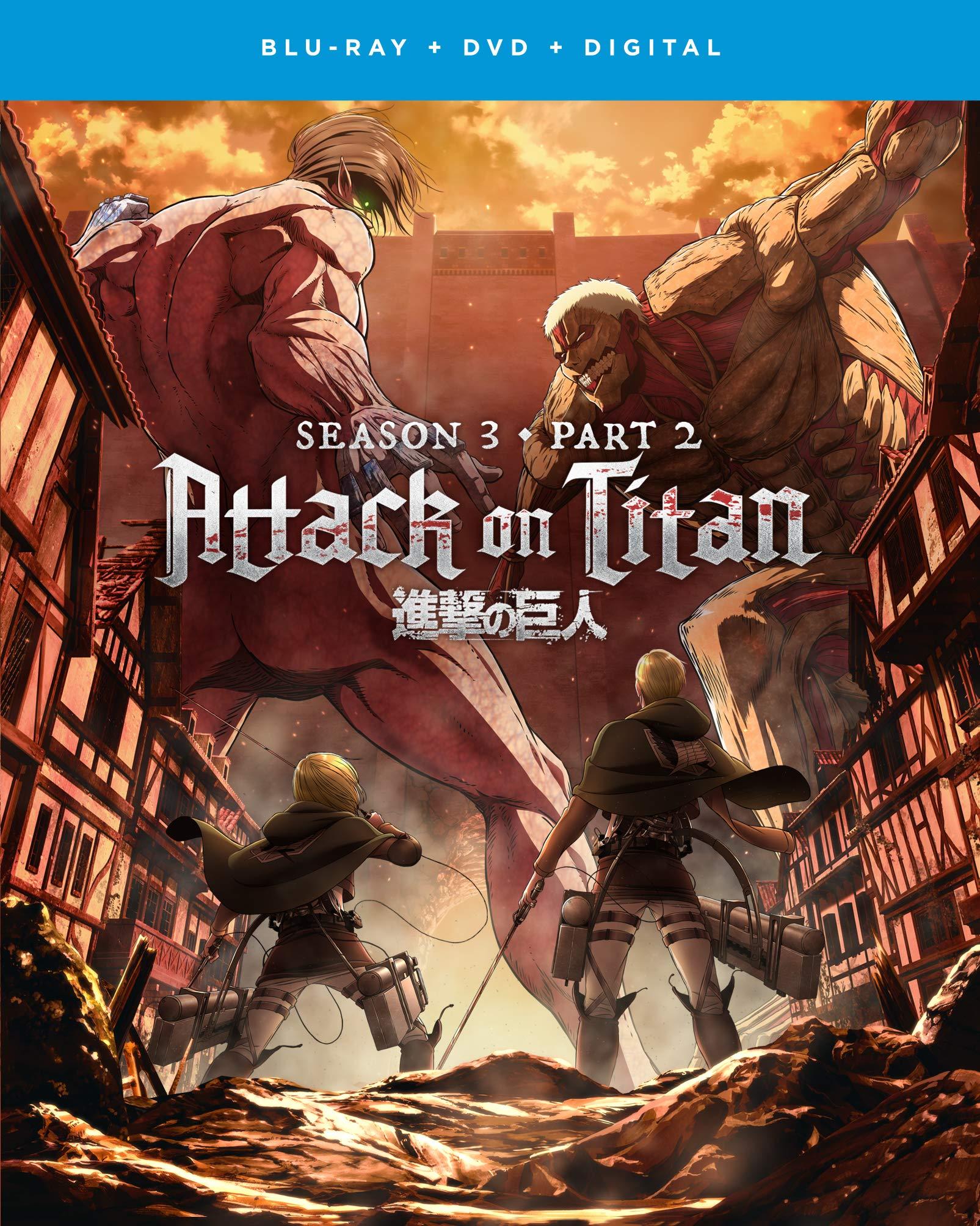 Attack on Titan: Season 3, Part 2 (Blu-ray / DVD Combo ...