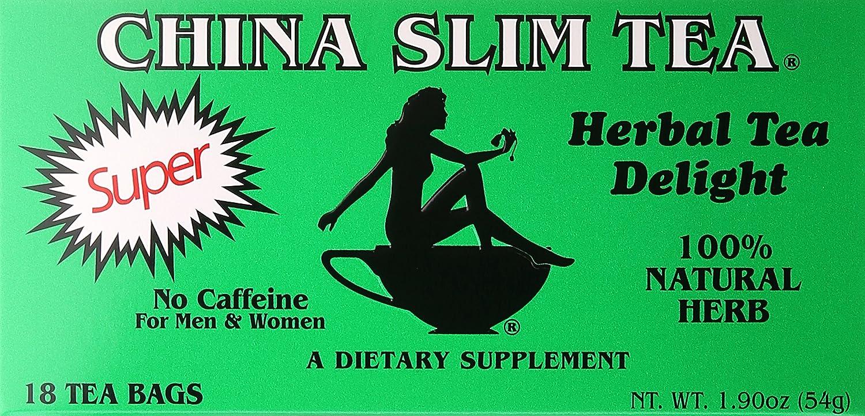 China Slim Tea Super Slim Dieter's Delight All Natural 18 Tea Bags