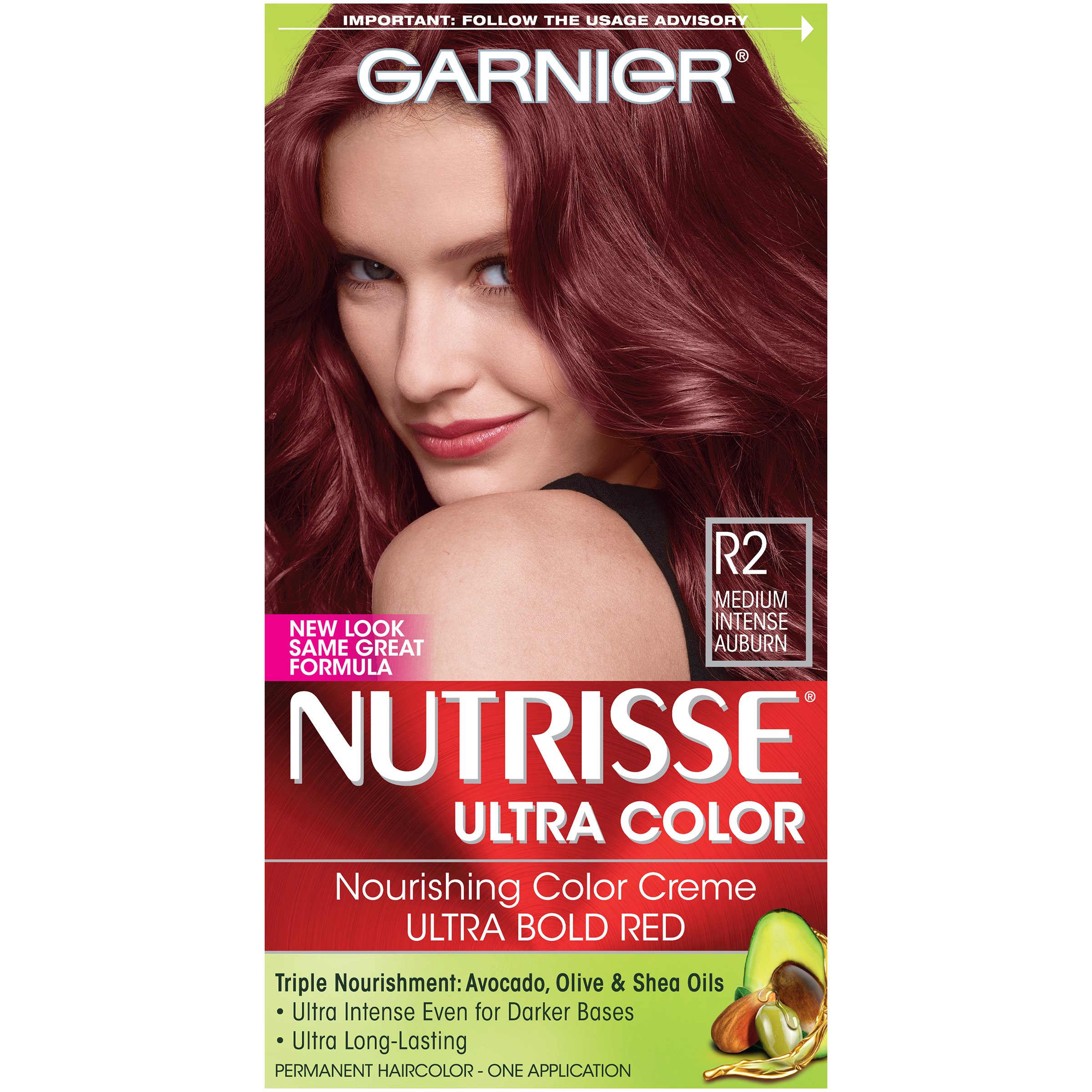 Garnier Auburn Brown Hair Color