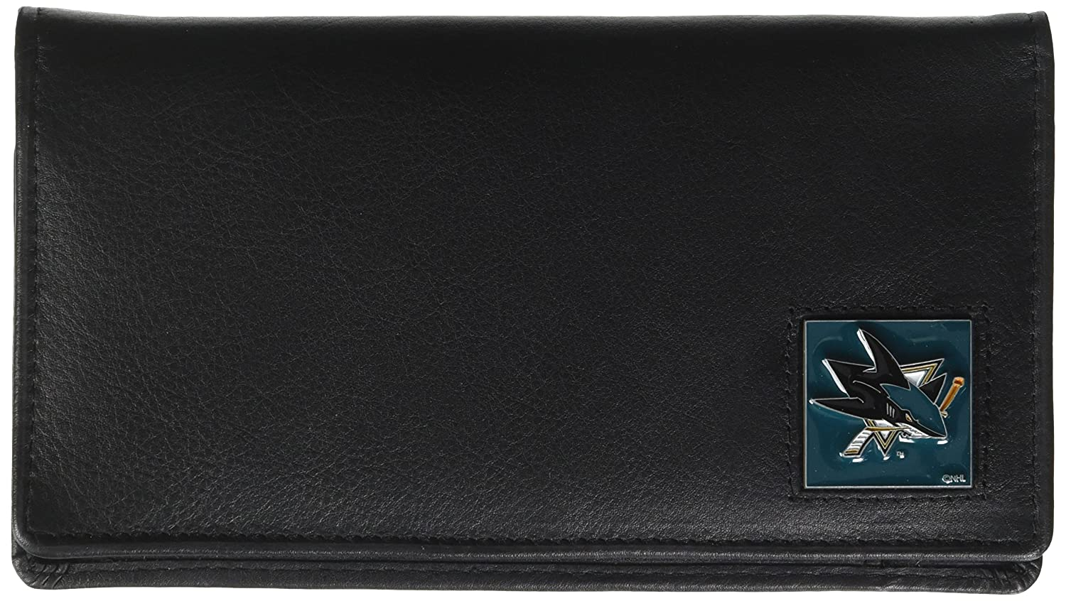 Siskiyou Sports HDCK55BX NHL Anaheim Ducks Genuine Leather Deluxe Checkbook Cover