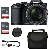 Nikon COOLPIX B500 (Black) Classic Bundle