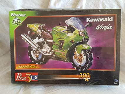 Amazon.com: Kawasaki Ninja, 313 Piece 3D Jigsaw Puzzle Made ...
