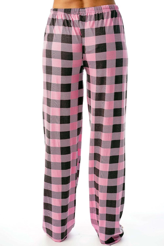 3aae617563 Just Love Women Buffalo Plaid Pajama Pants Sleepwear at Amazon Women s  Clothing store
