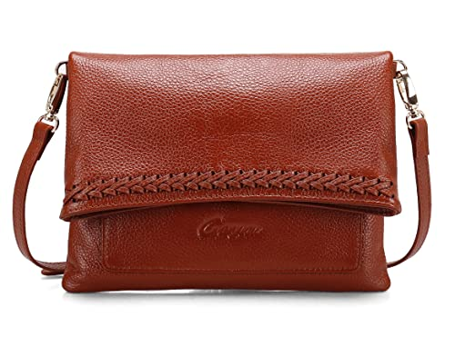 a9e407e0bfff Geya Crossbody Bags for Women Purses Bags Leather Wristlet Clutch Shoulder  Handbags with Removable Strap