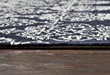 Rizzy Home Legacy Collection Wool Ivory/Navy