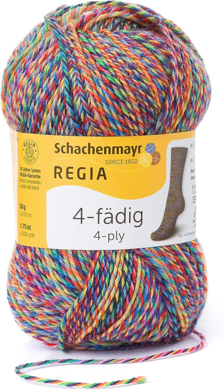 Schachenmayr REGIA Handstrickgarne 4p Color 50g Flowerfield