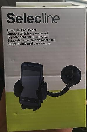 Selecline C957775 - Soporte (Teléfono móvil/Smartphone, Soporte Activo para teléfono móvil, Universal, Negro): Amazon.es: Electrónica