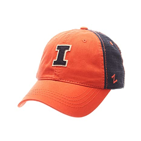 f9d5d60c90bcf Image Unavailable. Image not available for. Color  ZHATS NCAA Illinois  Illini Adult Men Springtime Relaxed Cap ...