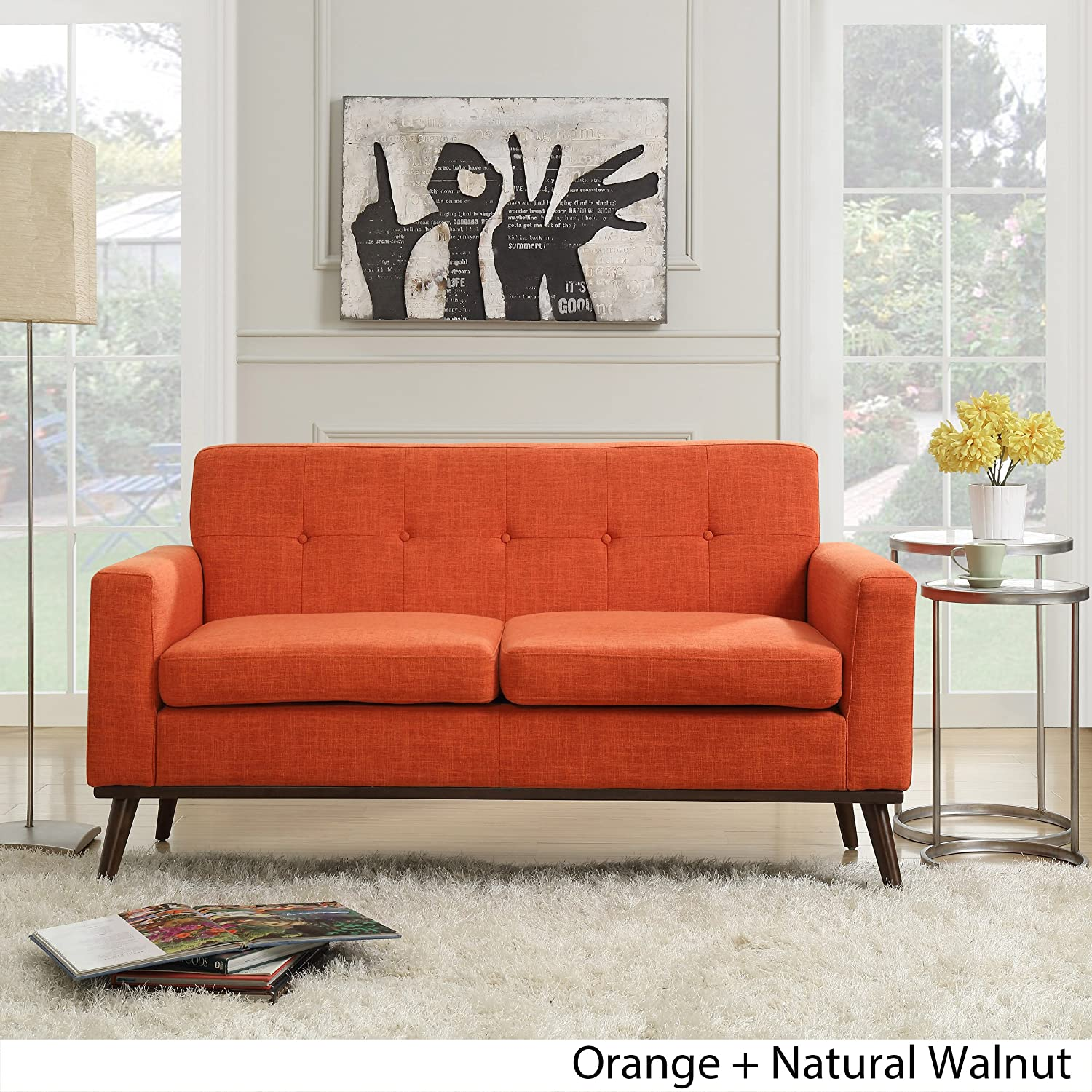 Amazon.com: Great Deal Furniture 304339 Sophia Mid Century ...