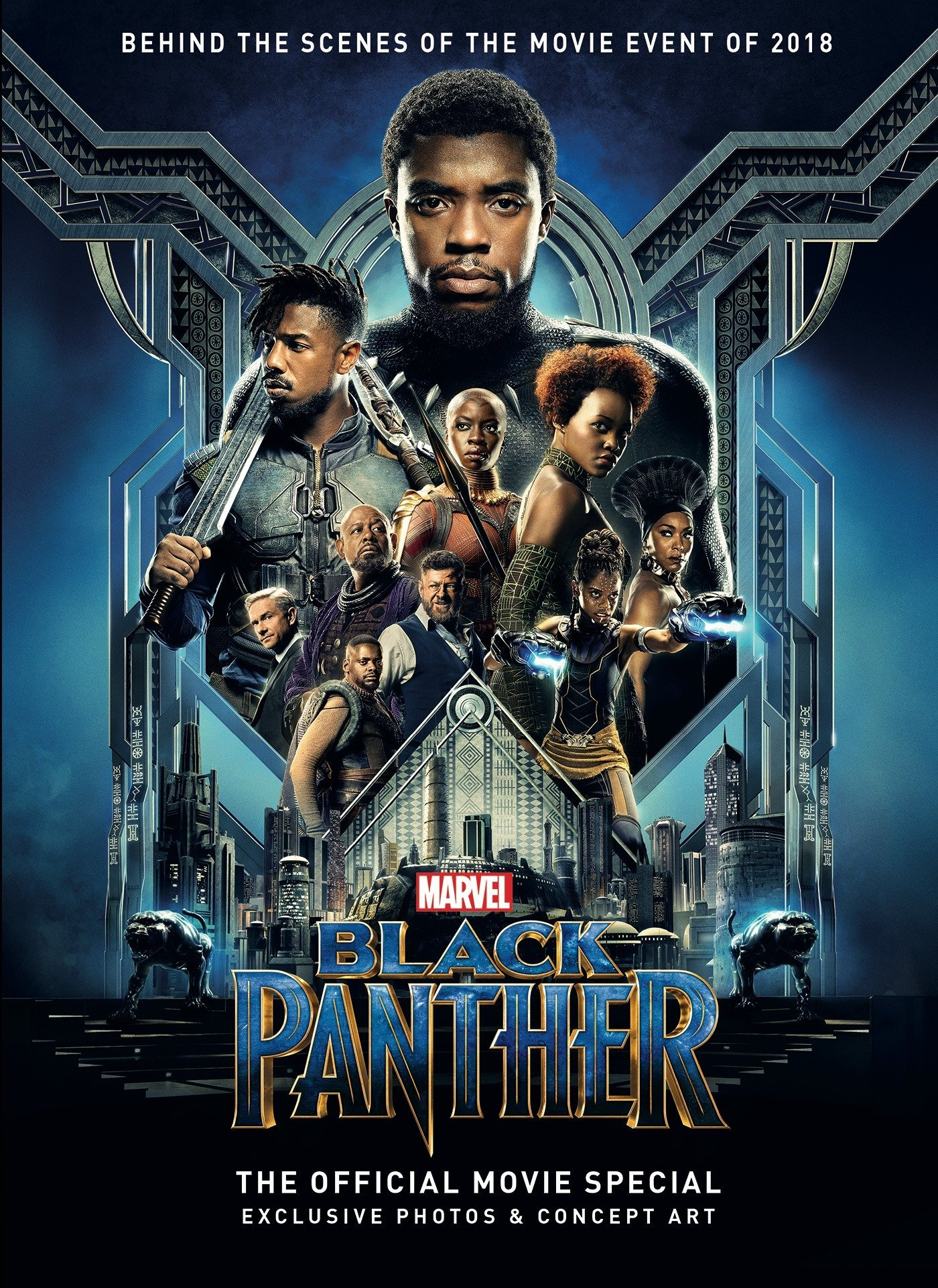 Marvel's Black Panther: The Official Movie Special Book: Titan:  9781785866531: Books - Amazon.ca