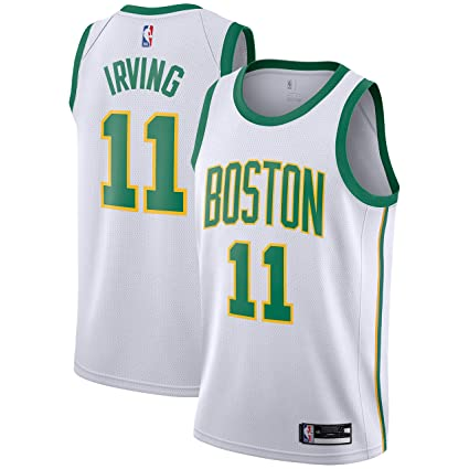premium selection 6f230 52530 Outerstuff Kyrie Irving Boston Celtics #11 White Gold Youth Alternate  Swingman Jersey