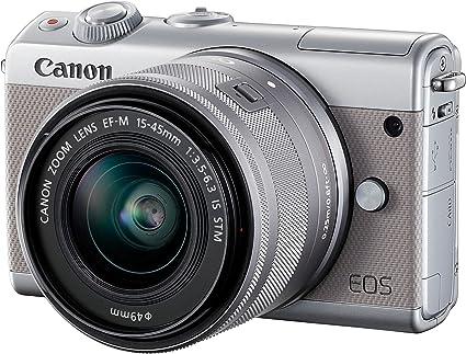 Canon Eos M100 Systemkamera 3 Zoll Double Zoom Kit Mit Kamera