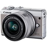 Canon EOS M100 Digital Camera with EF-M 15-45 mm - Silver